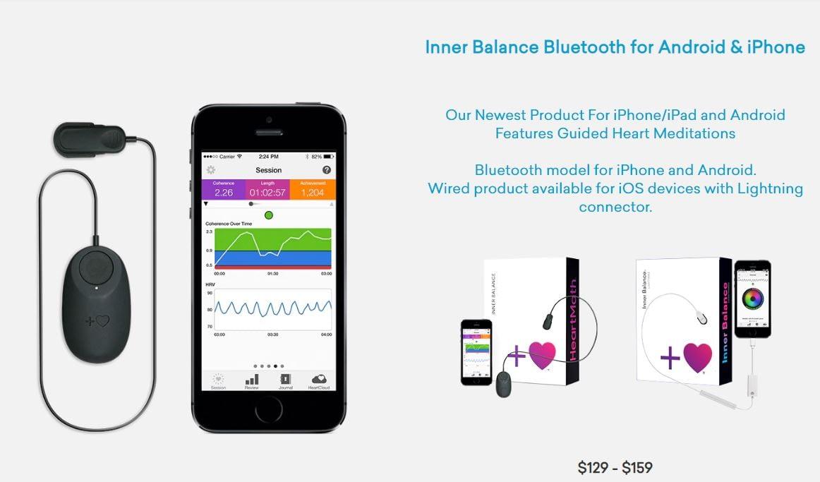 Inner Balance Sensor Android And Apple