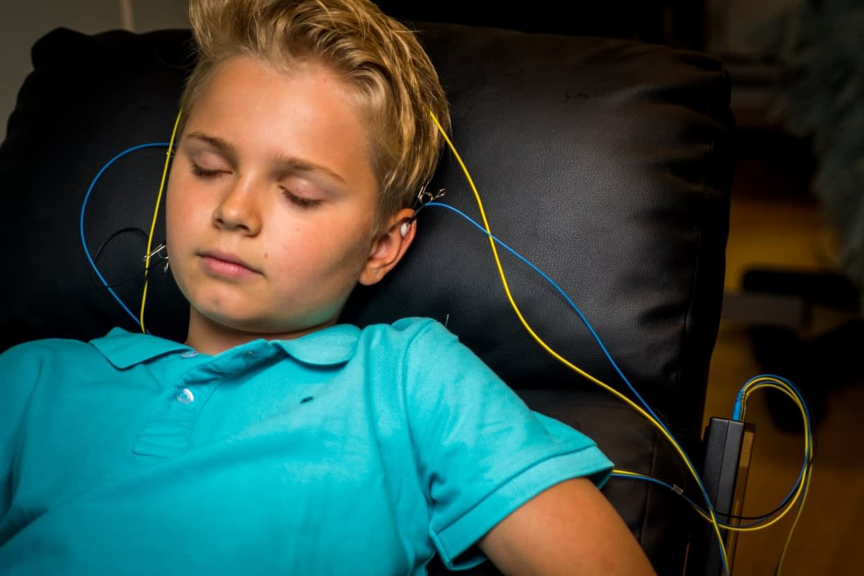 Young Boy Neuroptimal Session